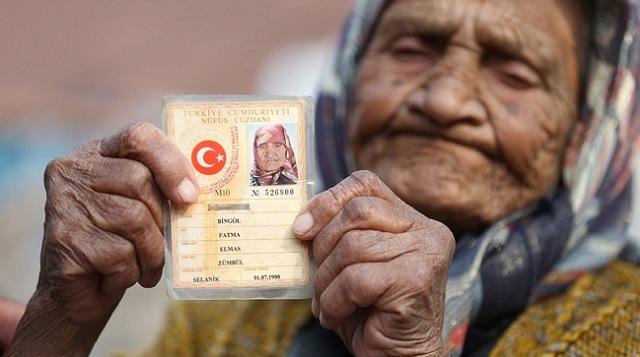 土耳其长寿老人活到118岁 见证过4个孩子离世