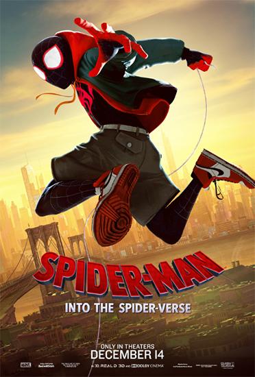 《蜘蛛侠:平行宇宙》发布北美版角色海报