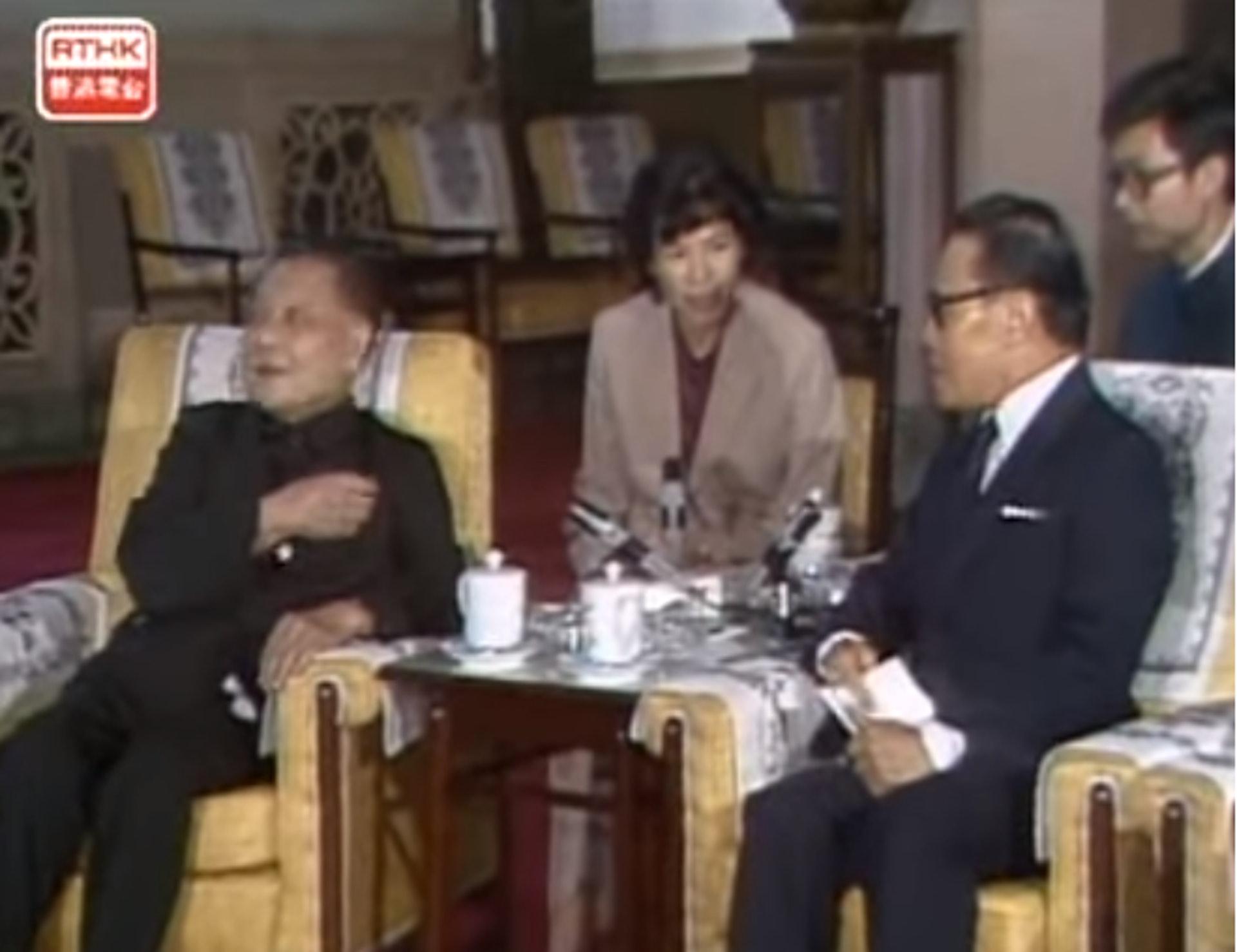 """曾获邓小平接见的香港""""政坛教父""""钟士元逝世,享年101岁"""