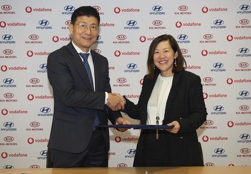现代与沃达丰签署合作协议 在欧洲推出车联网服务
