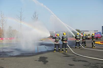 全民参与消防演练