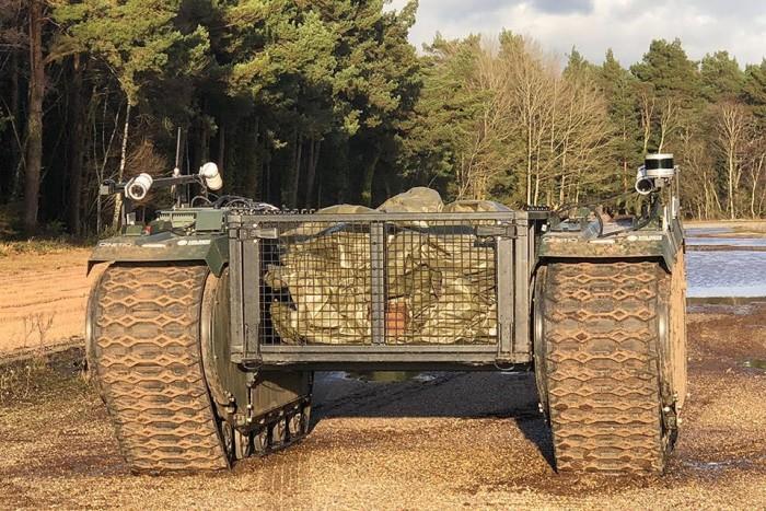 英国将展开其历史上规模最大的机器人军事演习