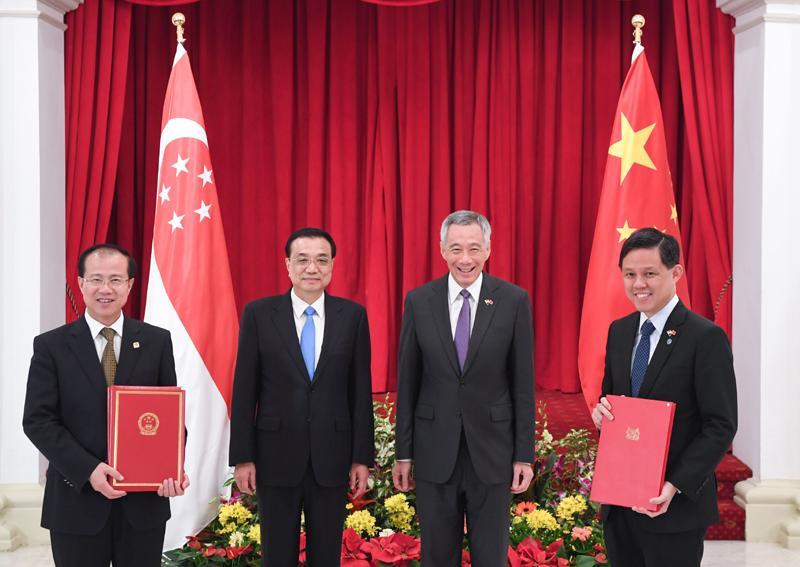 """中国新加坡自贸协定""""升级版""""""""升""""在哪里?"""