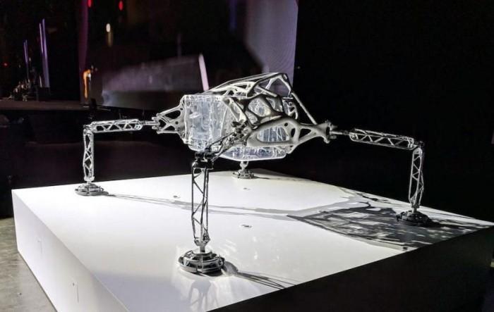 这个长得像昆虫的登陆器可能会成太空探险的未来