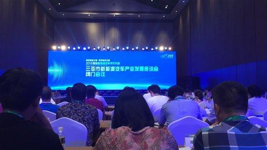 海南新能源汽车产业发展座谈会 共商新能源汽车生态岛建设