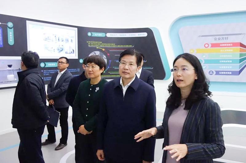 高云龙就民营经济高质量发展及商会改革展开调研