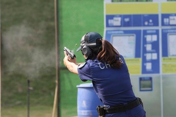 第二届世界警察手枪射击比赛于广东开赛