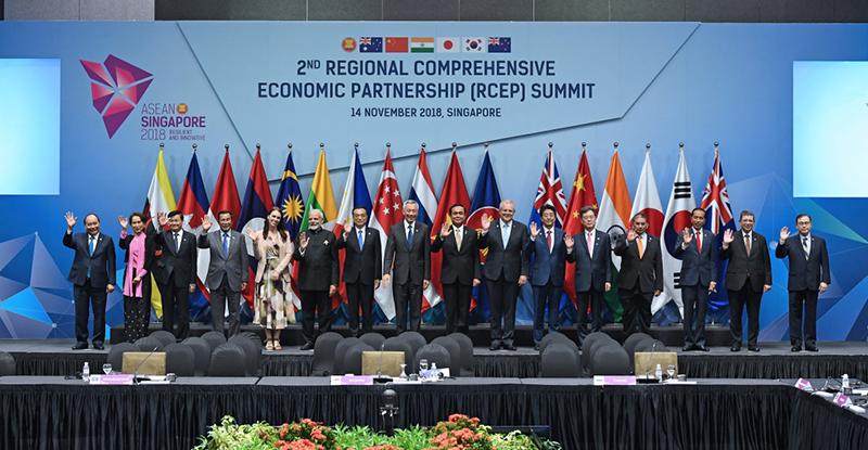 """李克强出席第二次""""区域全面经济伙伴关系协定""""领导人会议"""