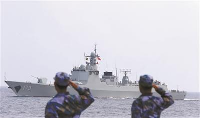 海军已服役三代长沙舰 两代退役后都做了靶船