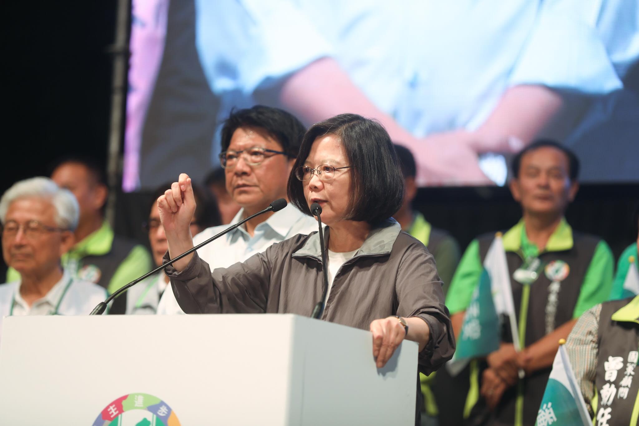 """国民党:蔡英文无力治理台湾,只能幻想""""境外打压"""""""
