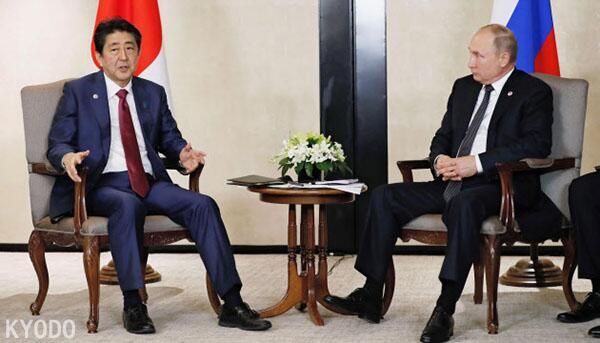 安倍与普京会谈 就加快《和平条约》谈判达成共识