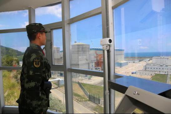 """【巨变·我守卫的热土】深圳的""""西伯利亚""""有一群核电卫士!"""