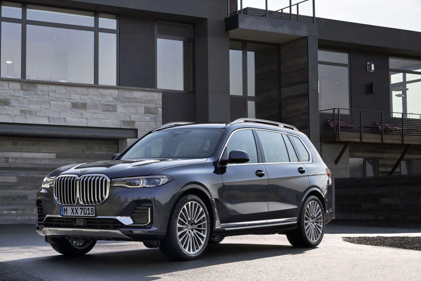 创新BMW X7以磅礴之势亮相
