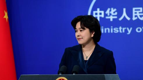 """华春莹霸气回应彭斯施压:""""中国不欠谁,不求谁,更不怕谁"""""""