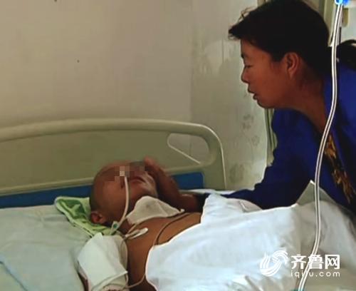 潍坊:儿子遭遇车祸昏迷不醒 高昂治疗费愁怀一家人