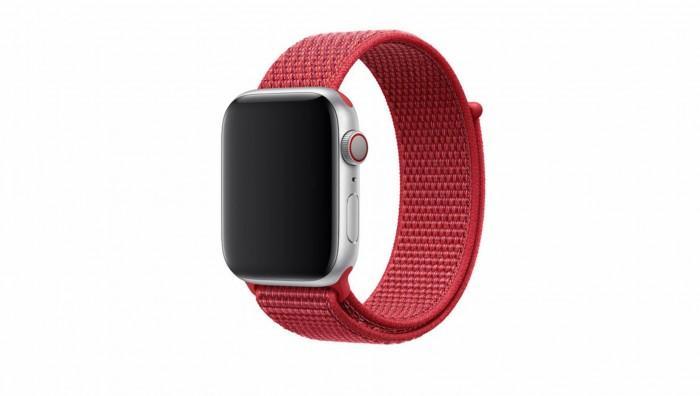 苹果上新 (PRODUCT)RED 版本回环式运动表带