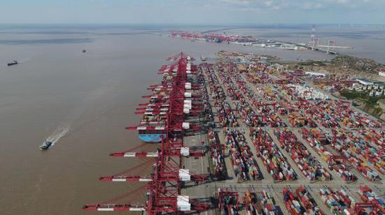 日媒:咋回事?中国对美集装箱运输量大增!