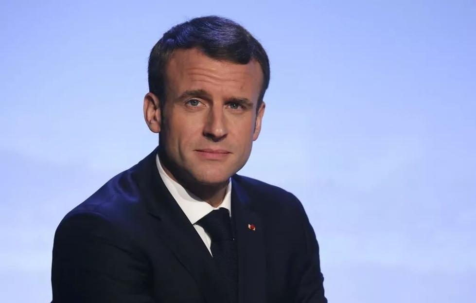 马克龙在航母上表态:法国是美国的盟友,而不是附庸