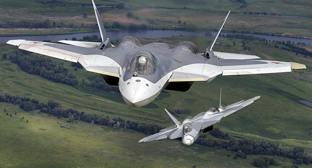 俄媒:苏57配新发动机将成5代+战机 完胜F22和F35