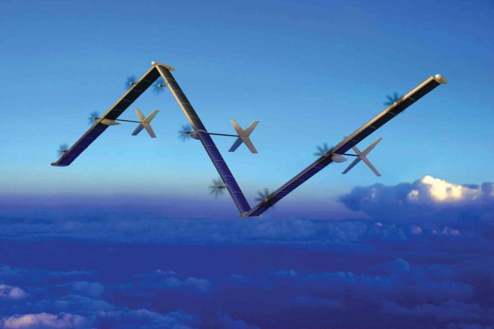美国研发太阳能无人机 能飞3个月