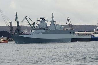 比印度还慢!波兰17年造一轻型护卫舰终于下水