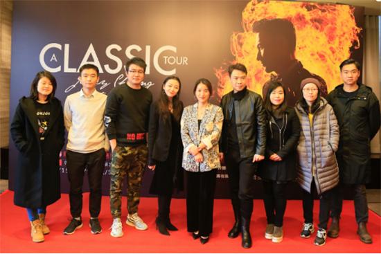 张学友巡回演唱会12月重返北京 连开三场