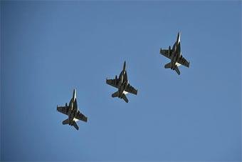 美军EA18G中队抵达卡塔尔 保持军事存在