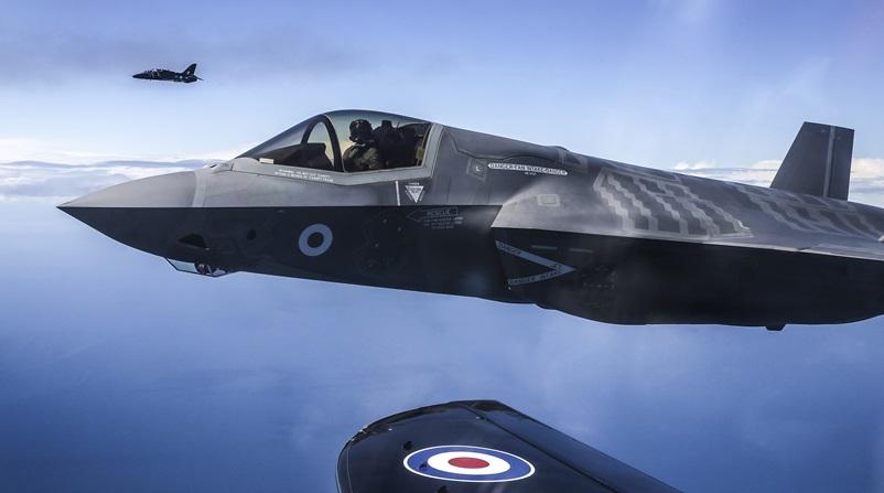 英国增购17架F-35隐形战斗机 总数将达到35架