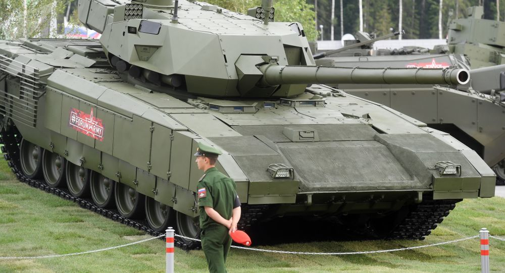 美媒:俄T-14坦克生存能力最强 但一点不如梅卡瓦
