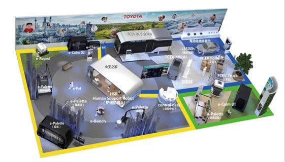 丰田加速跑:转型移动出行 加速中国本土化落地