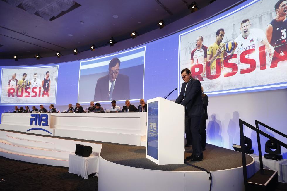 国际排联宣布:俄罗斯获2022年男排世锦赛主办权