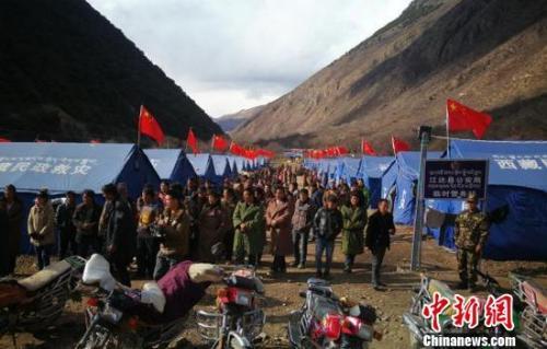 应急管理部:确保藏川滇灾区受灾民众安全、温暖过冬