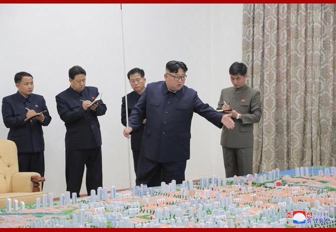金正恩视察中朝边境城市 指示