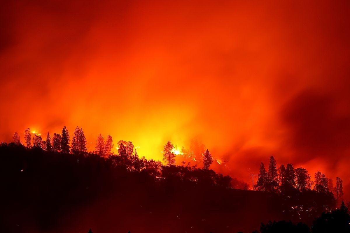 死伤人数继续上升,加州山火已致至少74死 1000多人失踪