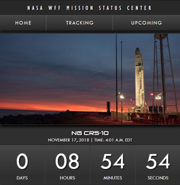 天鹅座货舱即将奔赴国际空间站 NASA宣布提供流媒体直播