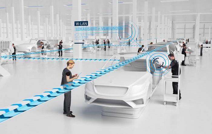 """梅赛德斯""""56号工厂""""项目:引入5G机器人等科技元素"""