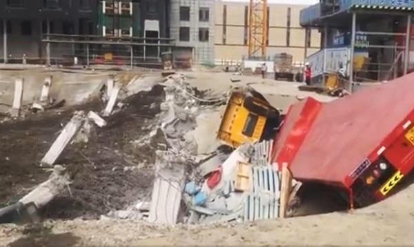 万科公布中山万科城坍塌进展 周边楼栋沉降监测正常