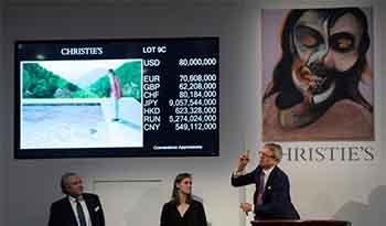 纪录最高的在世艺术:大卫·霍克尼名画9031万美元