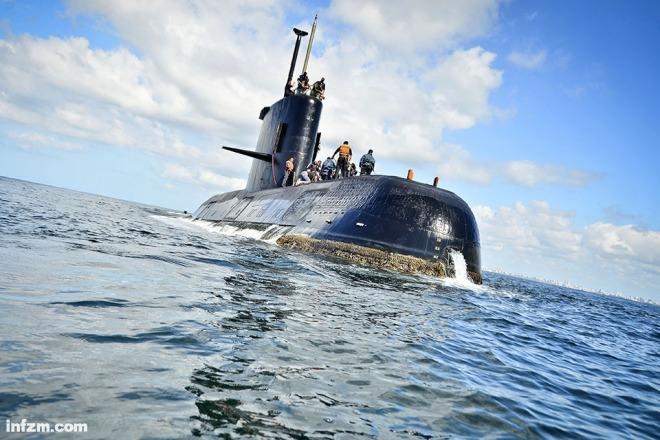 阿根廷宣布在大西洋发现一年前沉没的潜艇圣胡安号