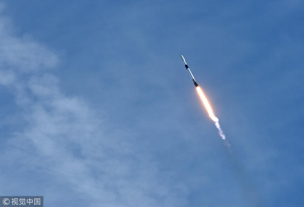 美国发射一枚运载火箭 为国际空间站运送3吨物资