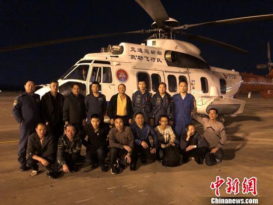 一货船惠来海域沉没 11名落水船员获救