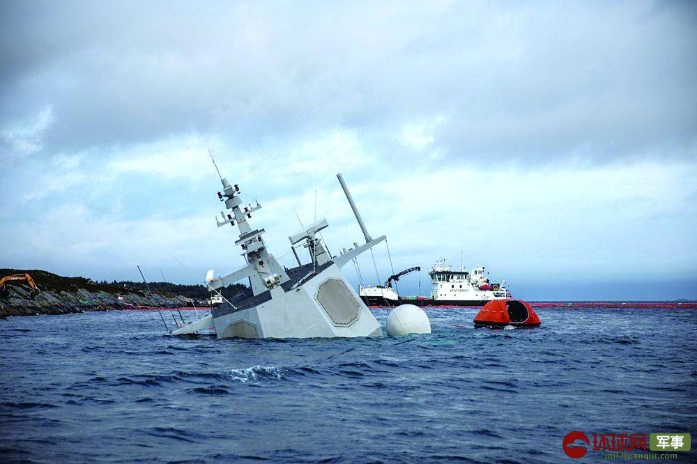 挪威宙斯盾舰沉没让美国很紧张 怕有同样隐患