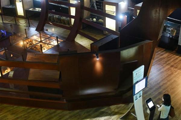 中文交往与海上丝路的历史见证——访文莱海事博物馆