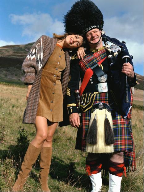 跟着MANGO代言人Jeanne Damas的苏格兰周末之旅