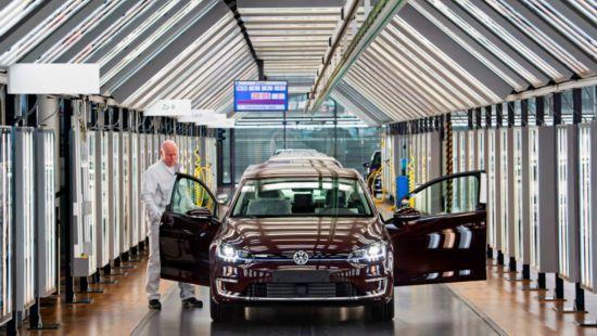 大众整合德国境内三家工厂联合投产新能源汽车