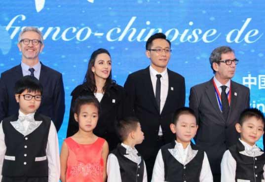 """刘烨安娜助力""""中法环境年"""" 呼吁持续关注环保"""