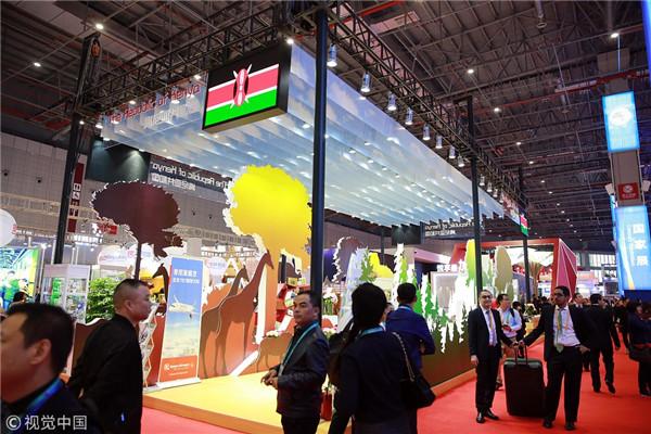 法媒:进博会为非洲企业提供良好的平台