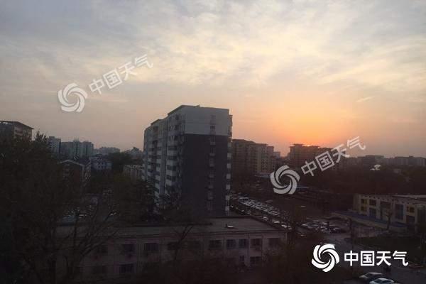 """本周北京弱冷空气频繁 北风""""常驻""""空气扩散条件较好"""
