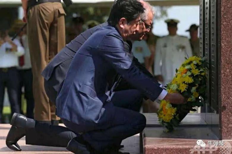 澳大利亚总理跪了,但安倍悄悄换了这个动作!