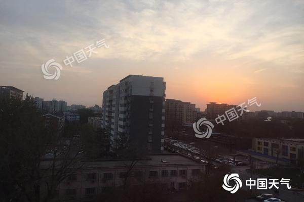 本周北京弱冷空气频繁 北风常驻空气扩散条件较好